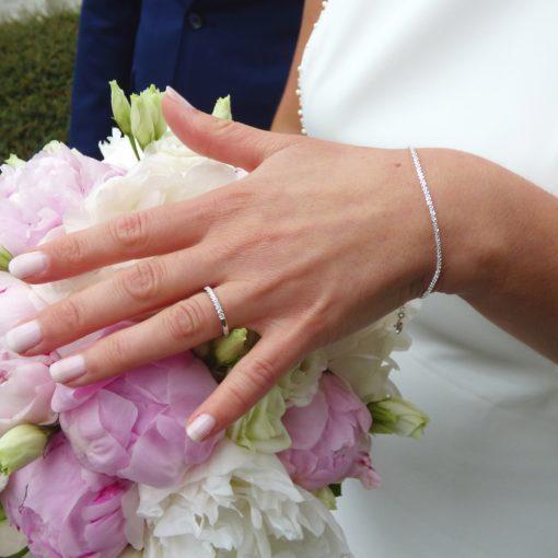 sterling silver bracelet irish made wedding jewellery