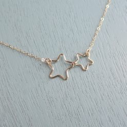 gold filled star necklace