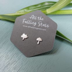 Sterling silver Irish weather earrings