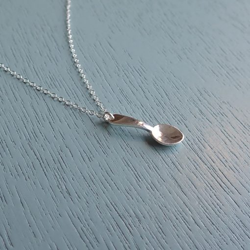 Sterling Silver Spoon Necklace Will you be my little spoon?
